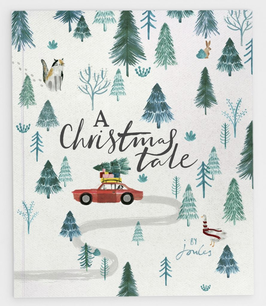 "The festive storybook ""A Christmas Tale"" from Joules - a great stocking filler for little ones, with 100% of profits going to Charitably Joules."