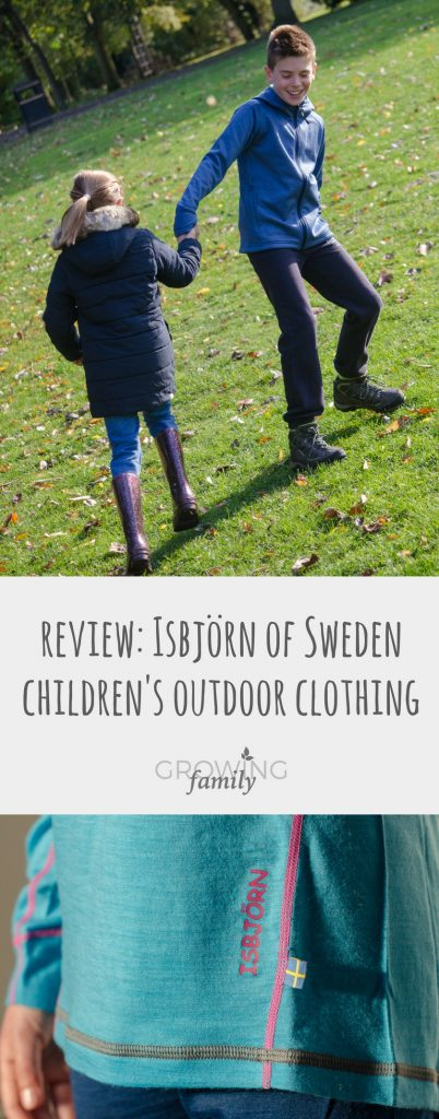 Exploring the Isbjörn range of premium outdoor children's clothing, plus a chance to win a fantastic bundle of items from the range.