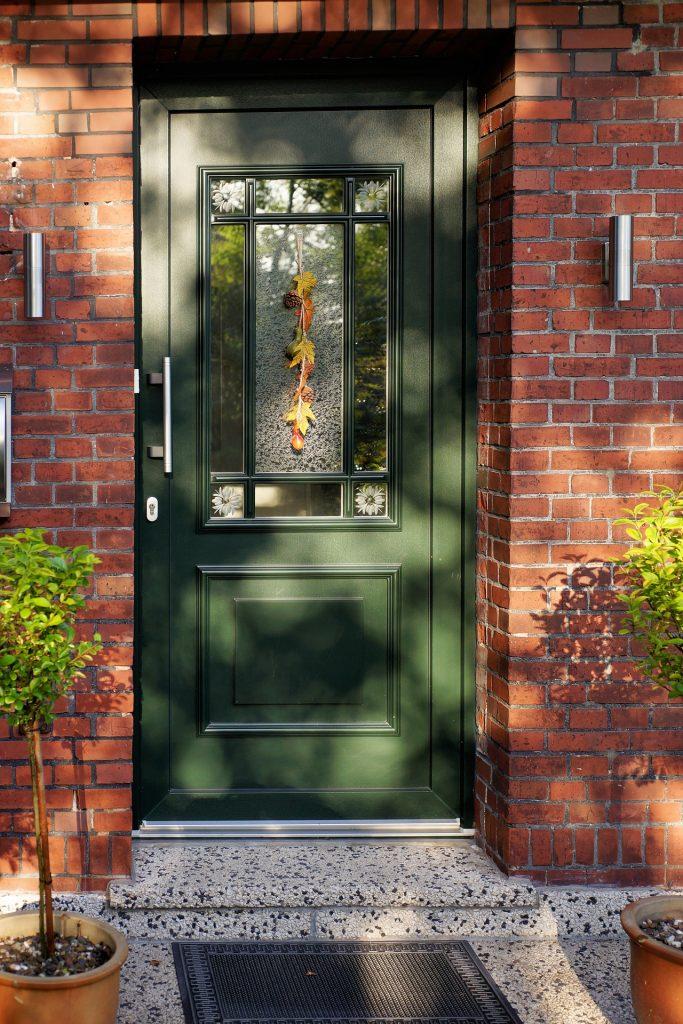 front door with kerb appeal