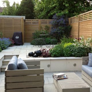 canterbury wooden fencing panels