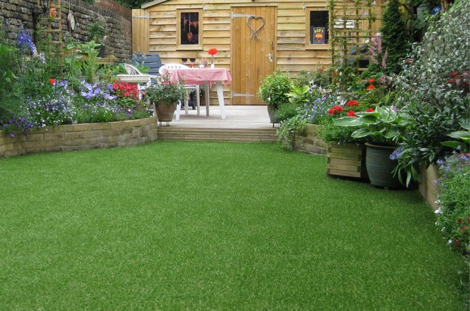 Is artificial grass a good option for family gardens?