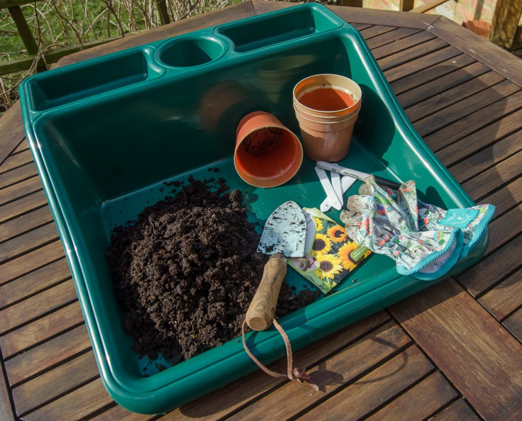 seed sowing garden tools and equipment