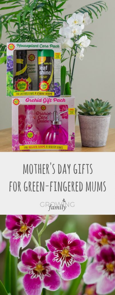 Do you have a green-fingered mum to buy for this Mother's Day? Check out Baby Bio's Orchid and Houseplant gift packs, perfect Mother's Day gifts for green-fingered mums!