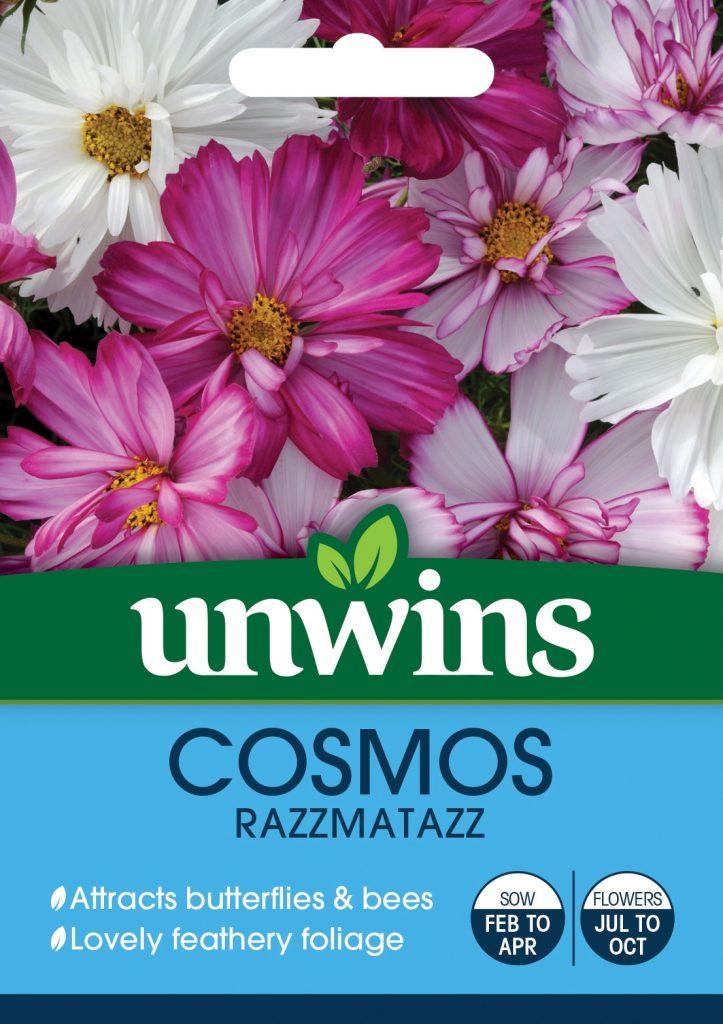 Unwins Cosmos seeds