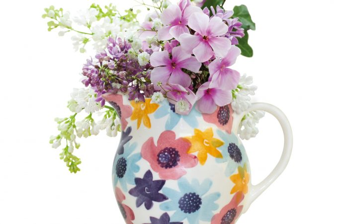 Win a limited edition Emma Bridgewater flower jug plus a bundle of Unwins flower seeds