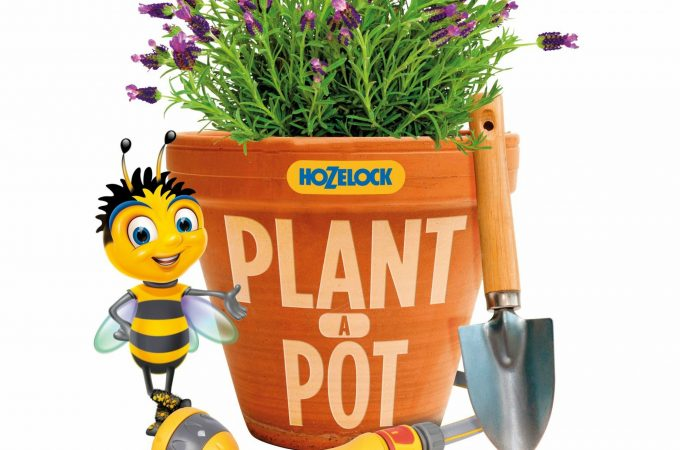 Helping Britain's bees with the Hozelock #PlantAPot campaign