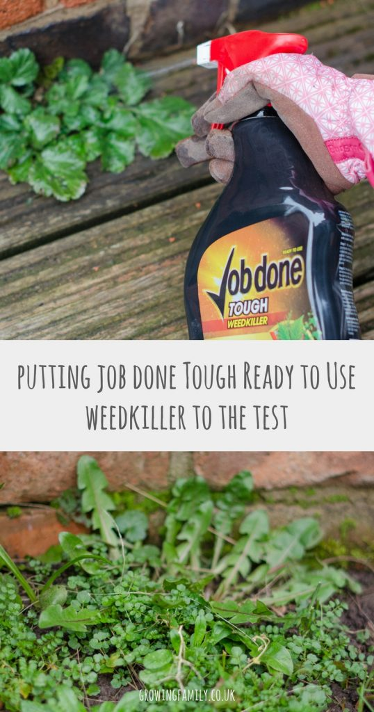 Struggling to deal with tough, problem weeds? I put Job done Tough weedkiller to the test against a leading competitor product to see which one performs the best.