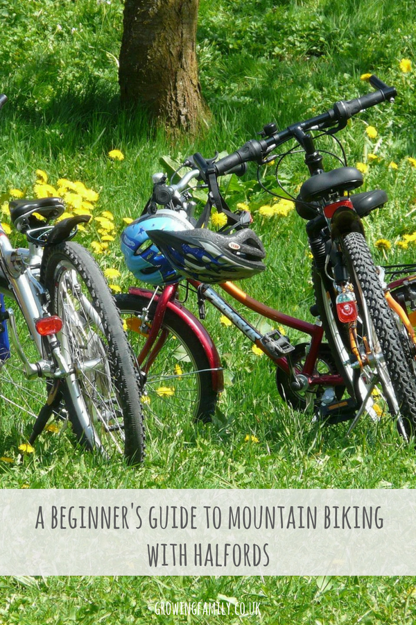 Exploring the Halfords Beginner's Guide to Mountain Biking, which aims to demystify the world of mountain biking and help beginners get started.