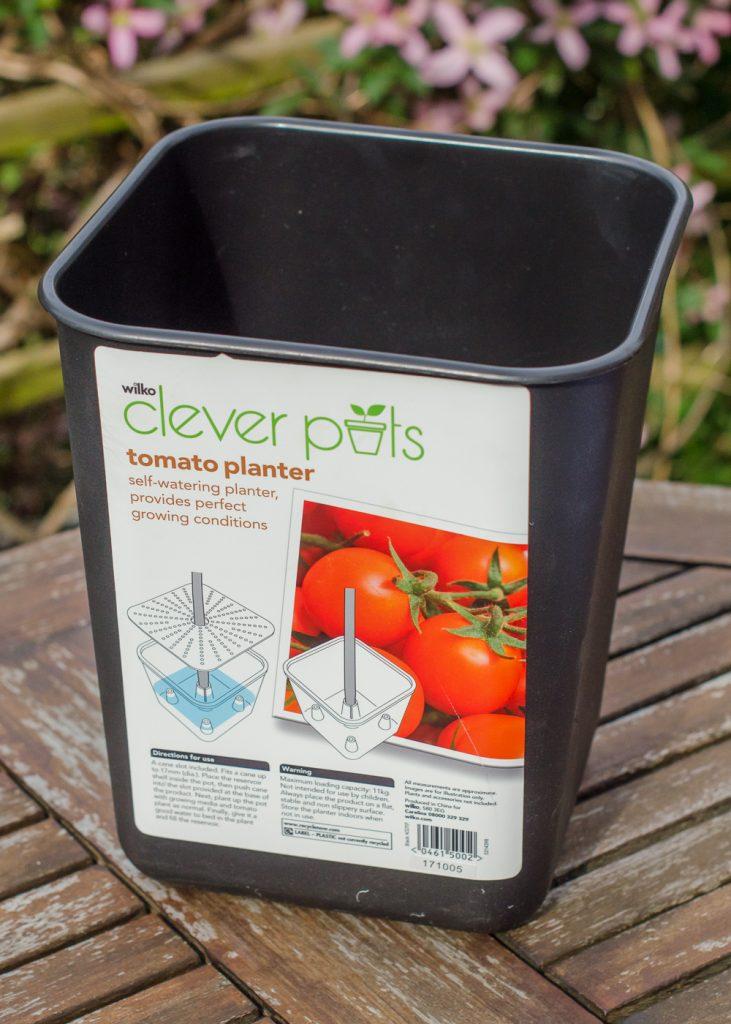 wilko clever pots tomato planter