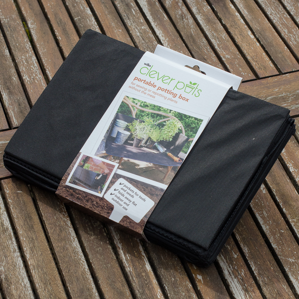 wilko portable potting box