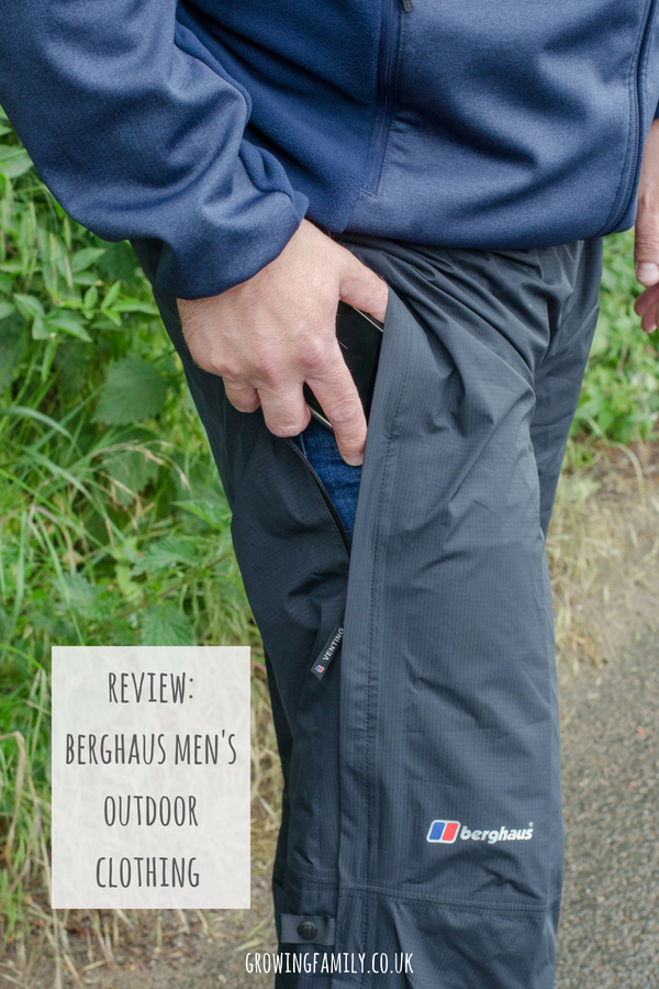 Reviewing Berghaus men's outdoor clothing from Simply Hike, putting it through it's paces on family walks and outdoor adventures.