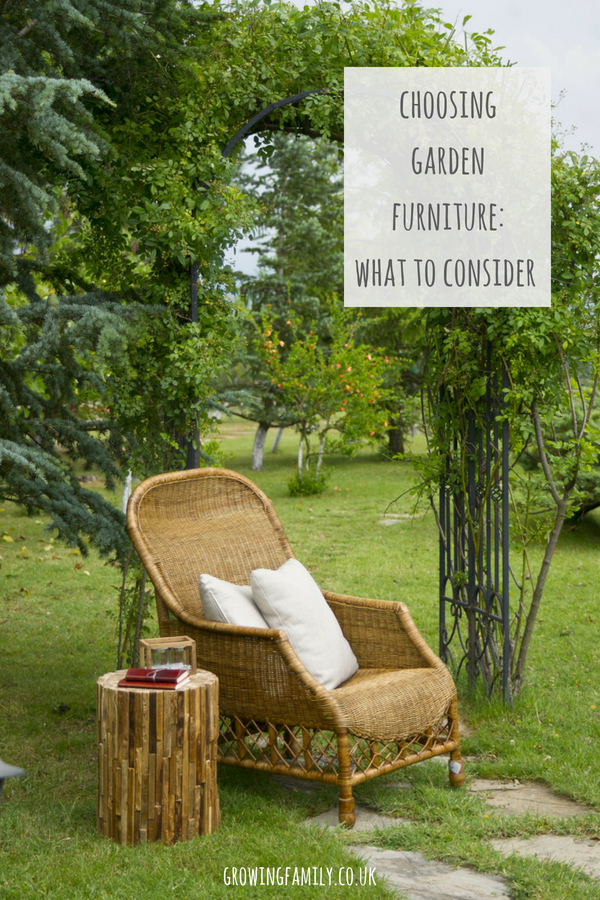 Looking to update your garden furniture? Buying garden furniture is a long-term investment, and making the right choice can really help transform your garden. Check out these tips to help you find the perfect garden furniture for your outdoor space.