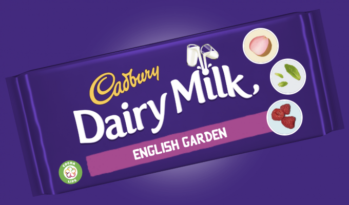 My garden-inspired Cadbury Dairy Milk Bar – and how you can invent the next flavour!