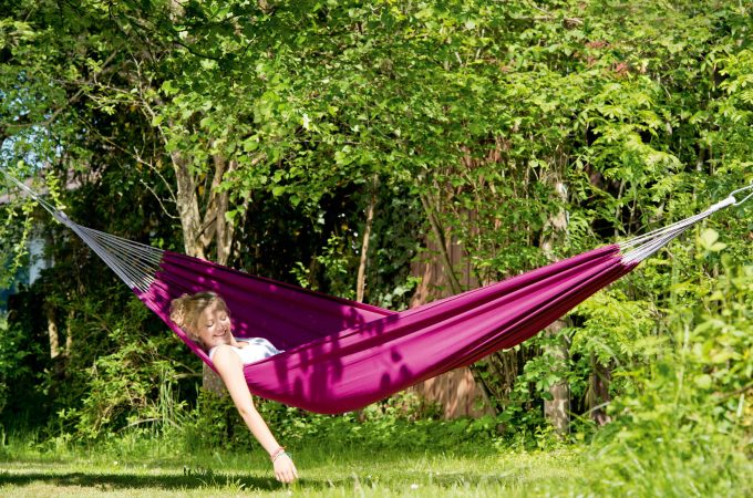 Win a single hammock with tree bands from Cool Hammocks