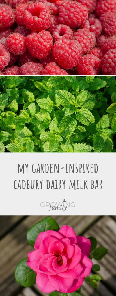 Creating my garden-inspired Cadbury Dairy Milk bar - plus how you can be a Cadbury Inventor and be in with a chance of your bar joining the range! #ad #gomadbury