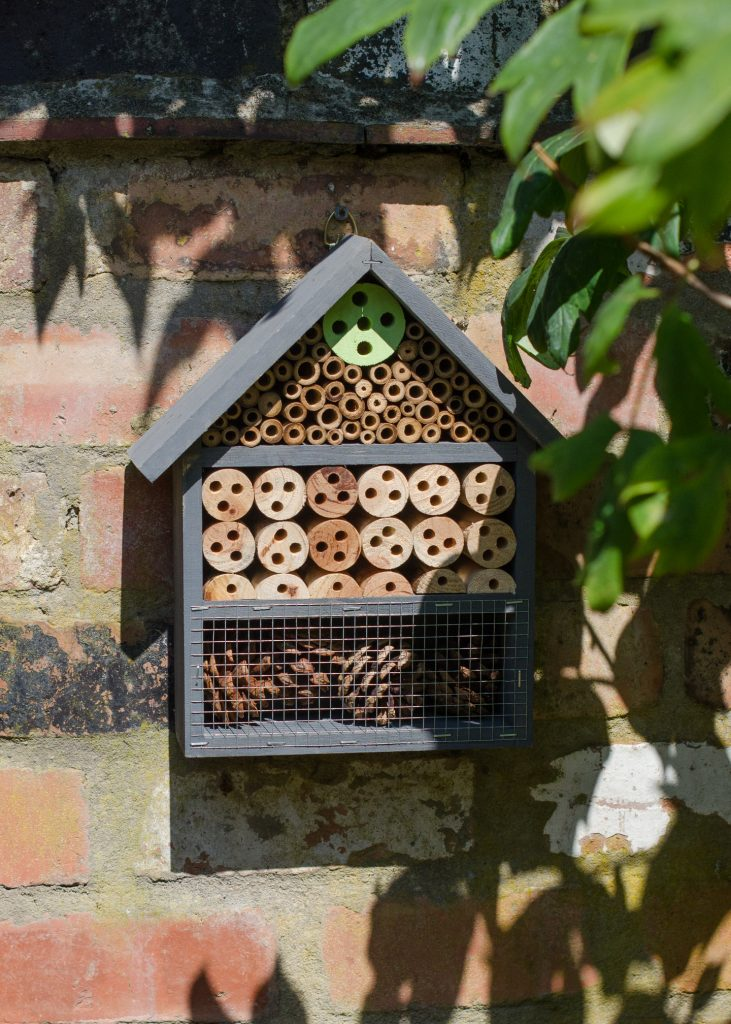 T J Hughes insect hotel
