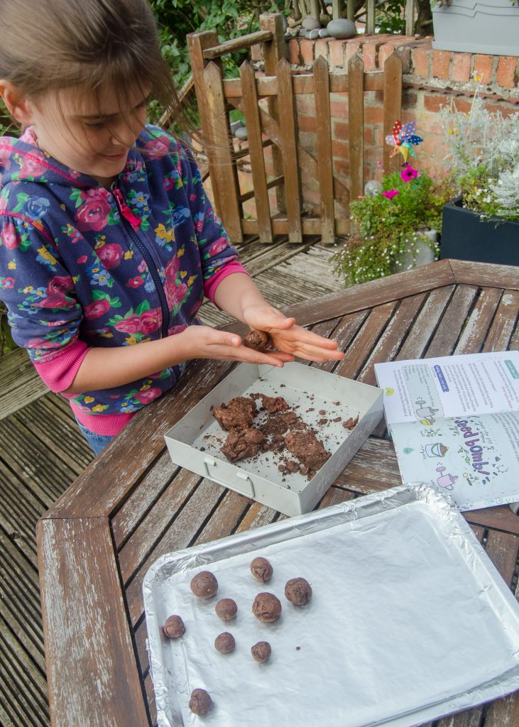 seed bombs rolling