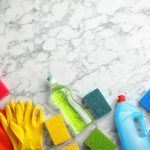 marble worktops cleaning