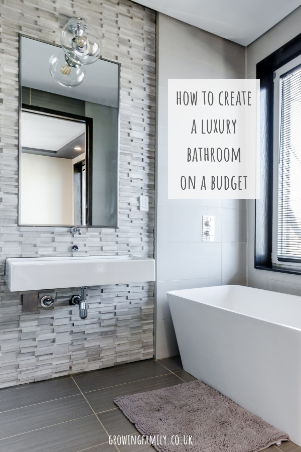Think you need a big budget to create a luxury bathroom? Think again! Check out these easy ways to create a luxury bathroom on a budget.