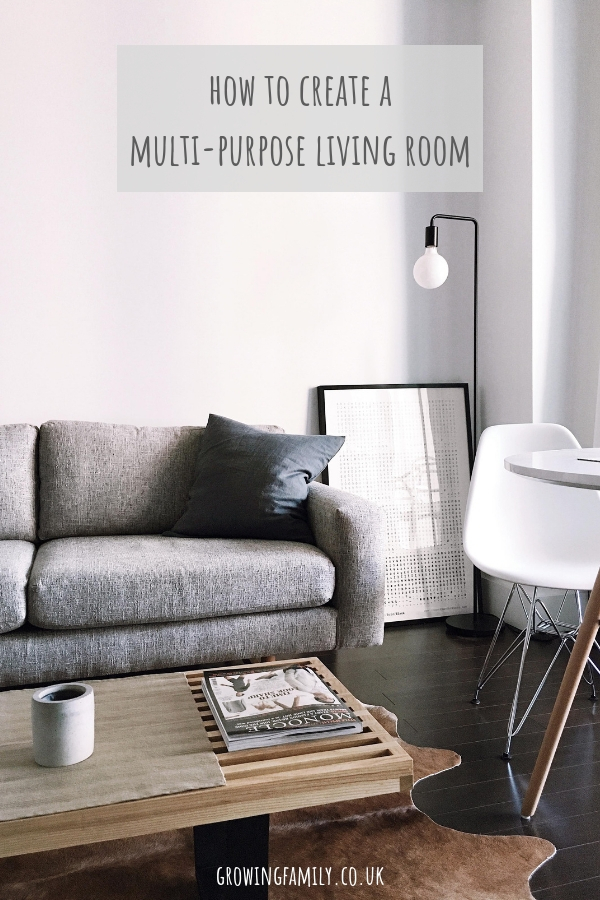 Does your living space need to multi-task? Check out these tips on how to create a multi-purpose living room that suits the needs of the whole family.