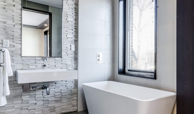 How to create a luxury bathroom on a budget