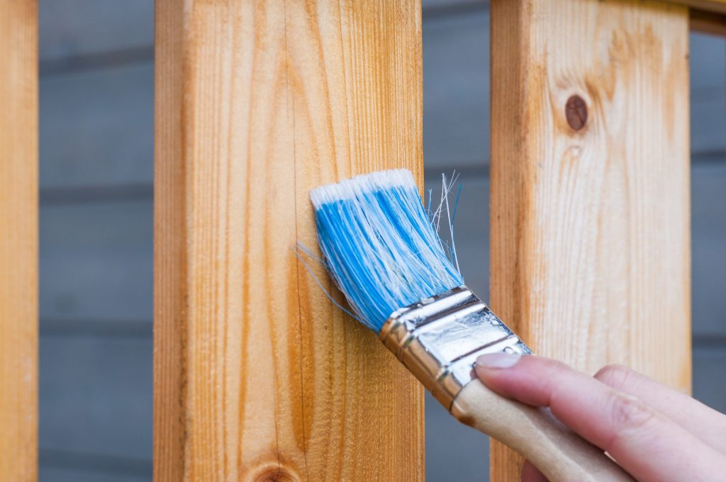 wooden fence panels maintenance