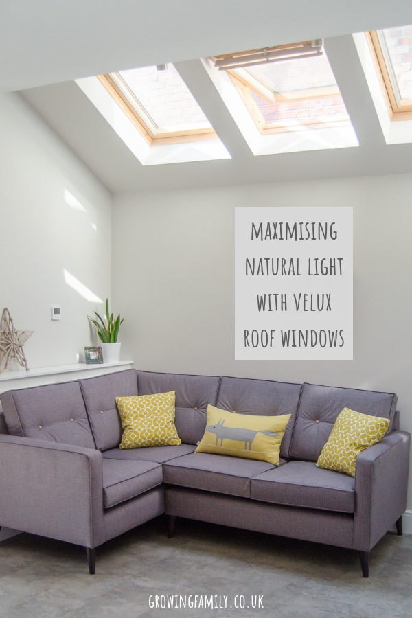 Using VELUX roof windows in single storey extensions and loft conversions to maximise natural light and create a bright, airy space.