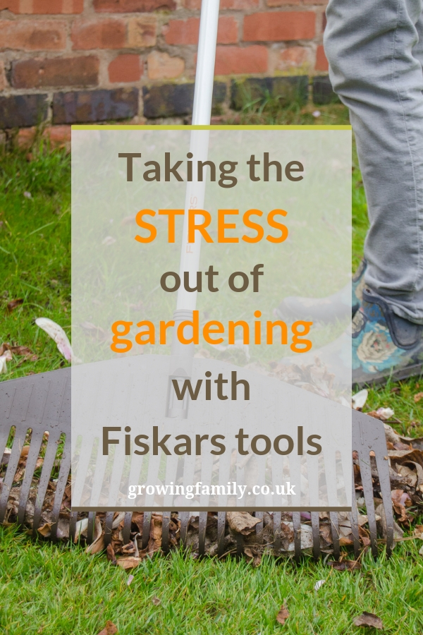 "Joining in with the Fiskars ""0% Stress, 100% Happiness"" campaign, using tools from their Light range to take the stress out of gardening!"