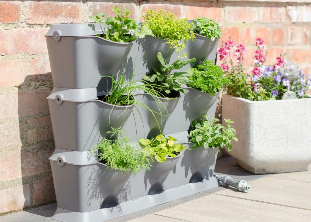 Vertical gardening with Gardena NatureUp! | AD - Growing ...