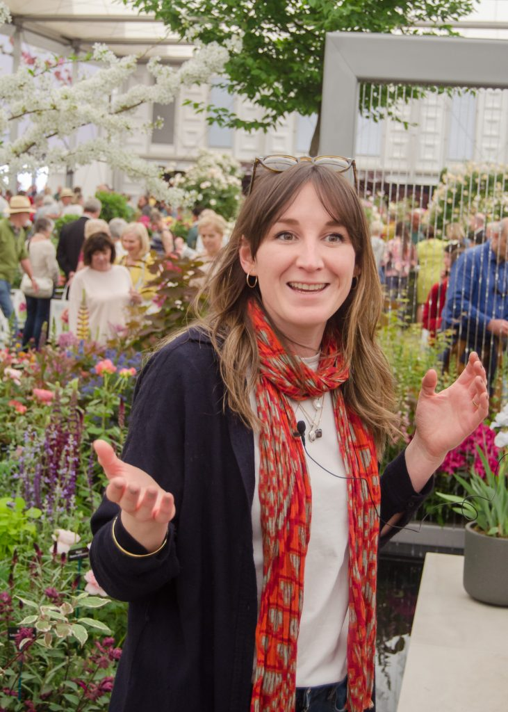 rhs chelsea flower show 2019 stihl hillier garden designer lilly gomm