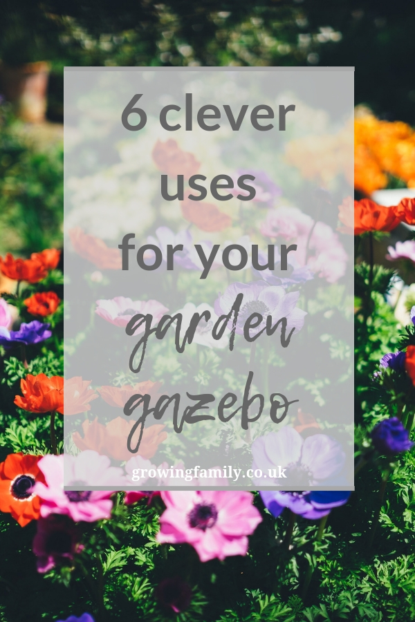 Whether you've got a gazebo that's being neglected, or are wondering whether it's worth investing in one, here are six ways you can put it to good use.