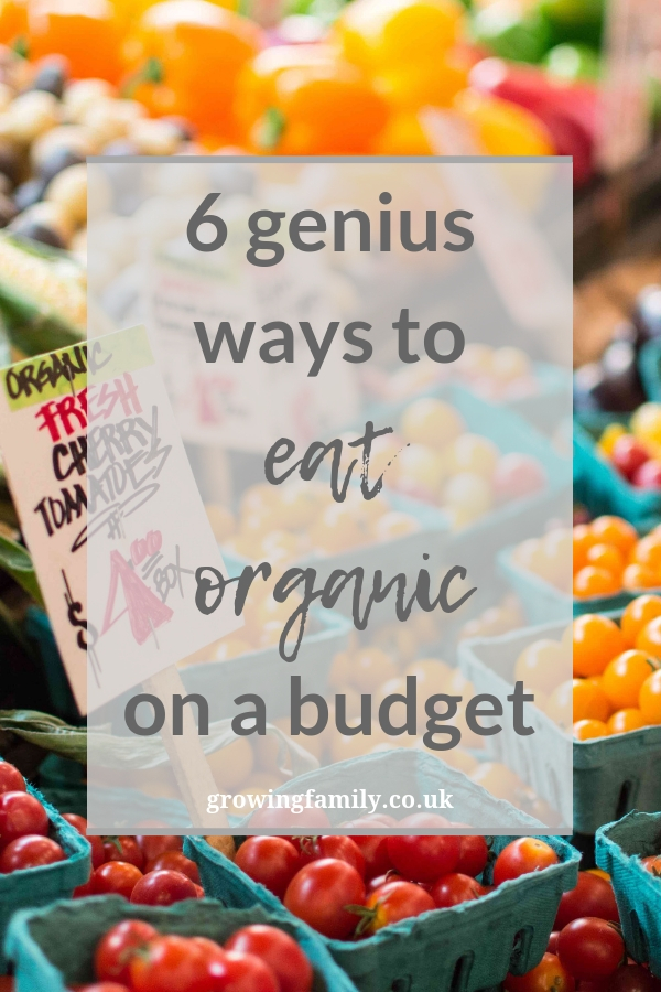 If you'd like to make the switch to organic food without breaking the bank, here are six easy ways to eat organic on a budget.