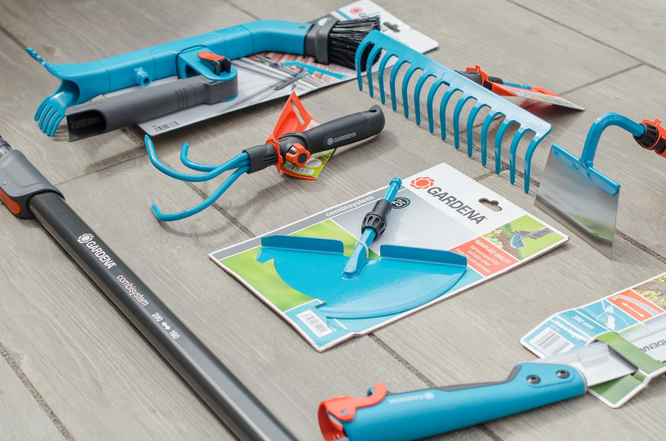 gardena combisystem gardening tools range