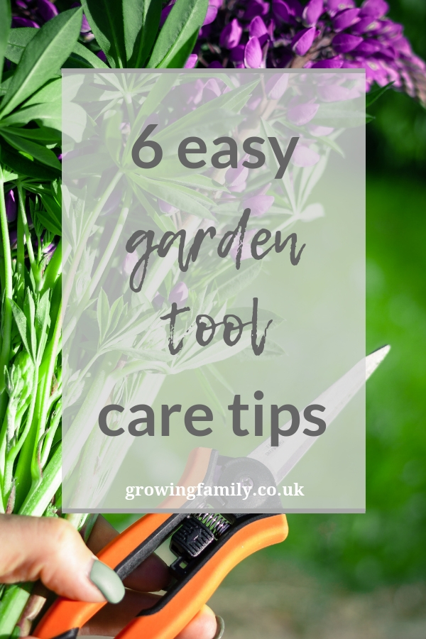 If you're not sure where to start when it comes to garden tool maintenance, here are six easy tips on how to keep your kit in tip-top shape.