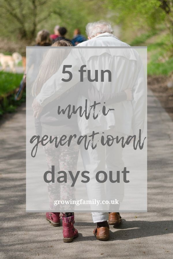 Looking for inspiration for fun, multigenerational days out this summer?  Here are our top picks for days out that cater for all ages.