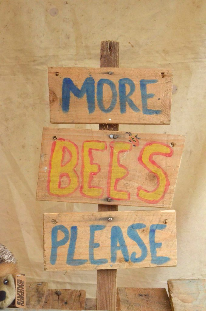 more bees please sign