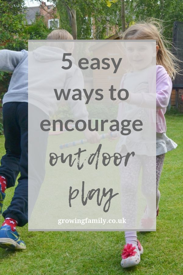 Would you like your kids to enjoy playing outdoors more?  Here are some tips and tricks to help you encourage outdoor play and make sure they have fun.