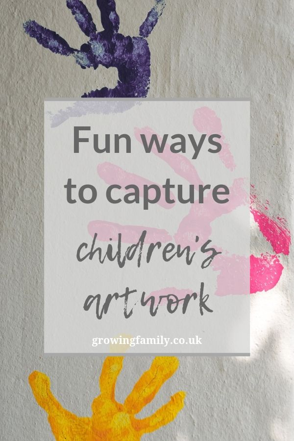 Do you have kids who love to draw, paint and craft? Here are some ideas for fun ways to capture and enjoy your children's artwork.