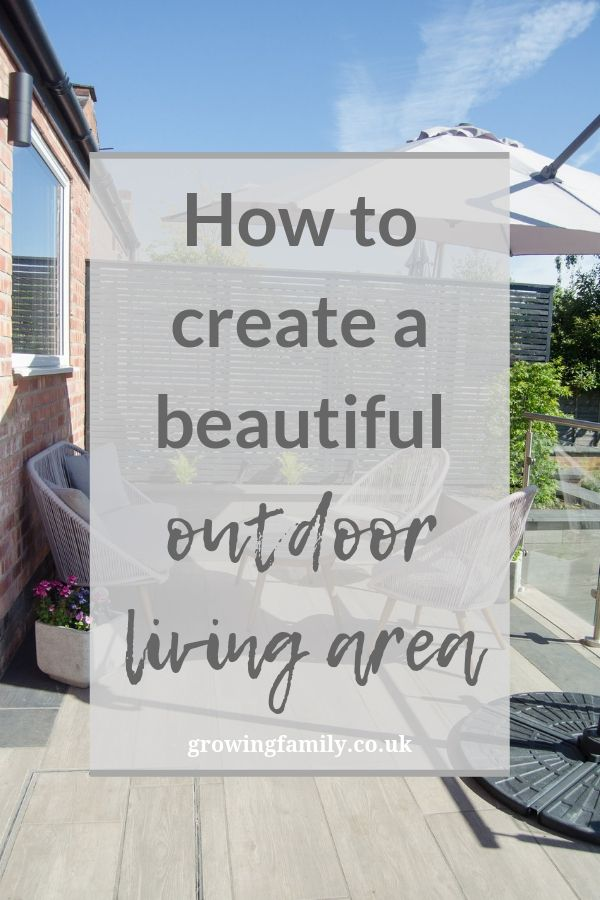 Creating an outdoor living area doesn't have to be complicated or expensive. Here are some easy ways to turn your outdoor space into a practical living area.