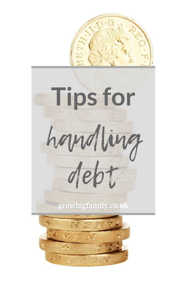 Do you need to take control of your finances? These top tips for handling debt will help you set a budget, plan your spending and stay on track!