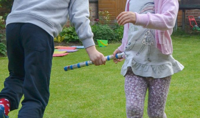 Five easy ways to encourage outdoor play