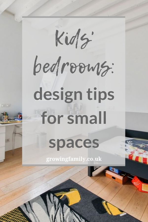 Struggling to make a compact bedroom work well for your child? Check out these easy small-space design tips for kids' bedrooms.