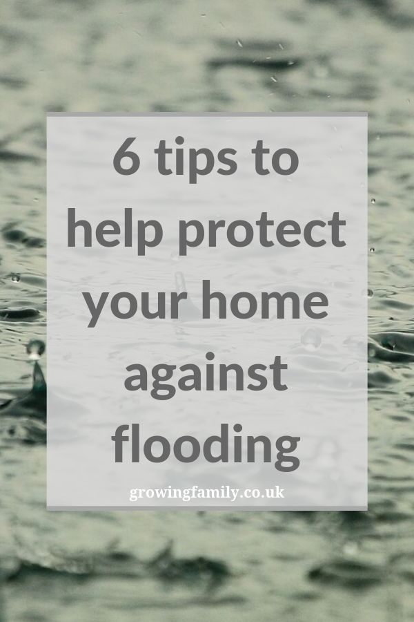 Not sure how to protect your home against flooding?  These tips will help you be prepared for flooding and minimise the impact if it happens.