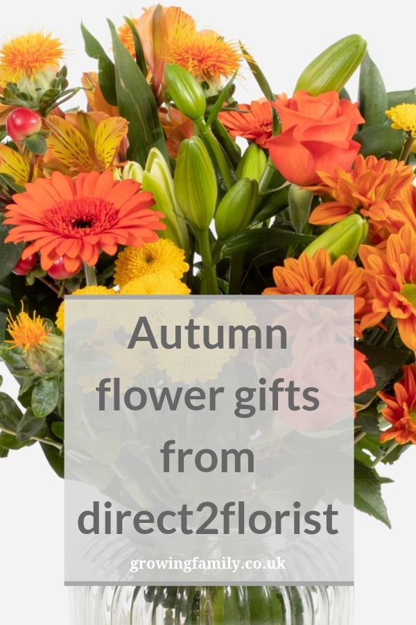 Showcasing the autumn range of flower gifts and bouquets from direct2florist, full of bold colours and perfect for bringing a touch of autumn into your home.
