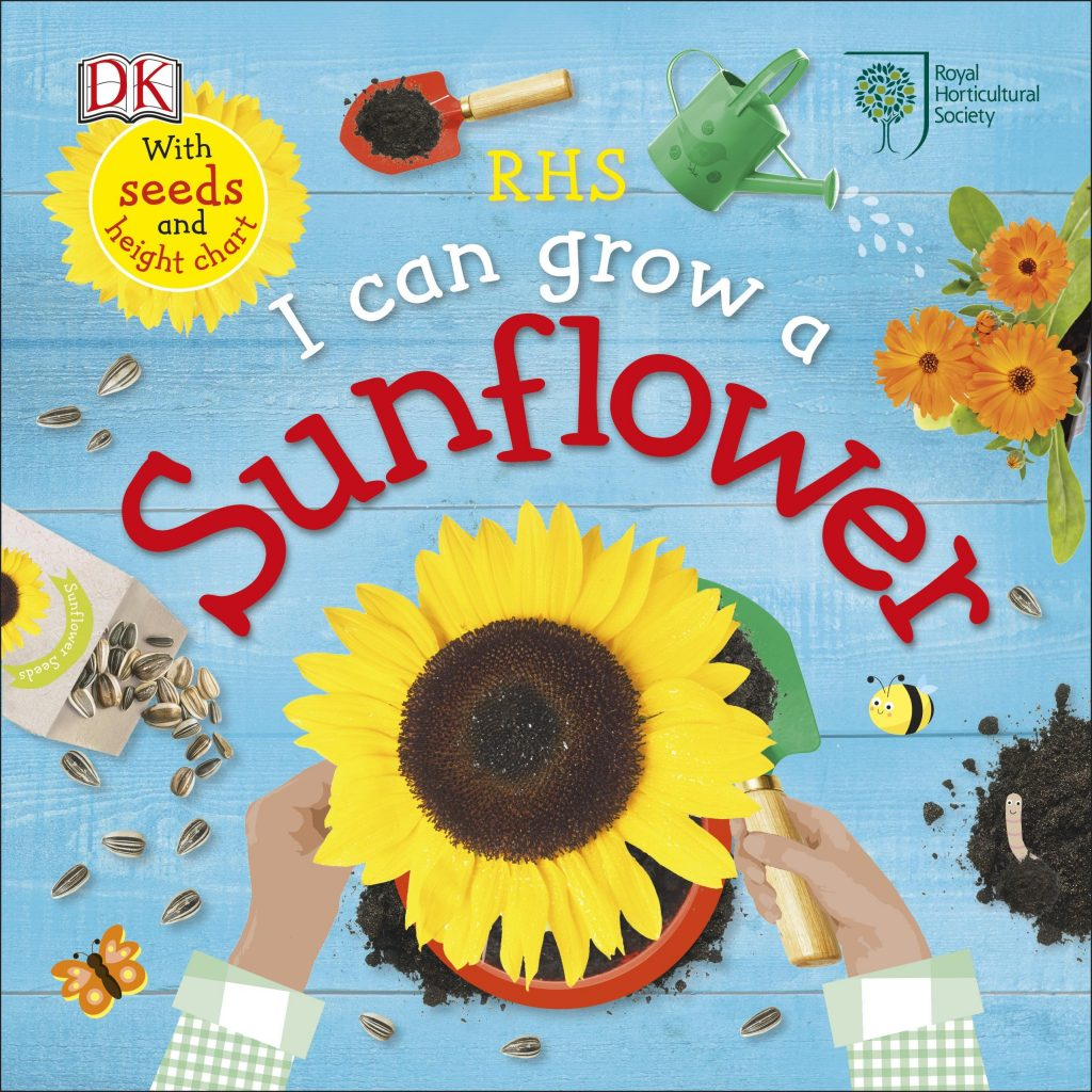 Dorling Kindersley gardening books I Can Grow a Sunflower