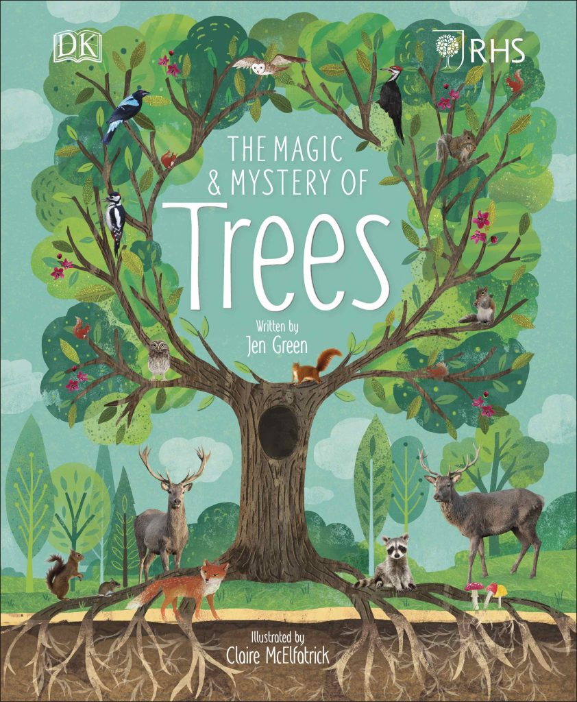 Dorling Kindersley RHS The Magic & Mystery of Trees book