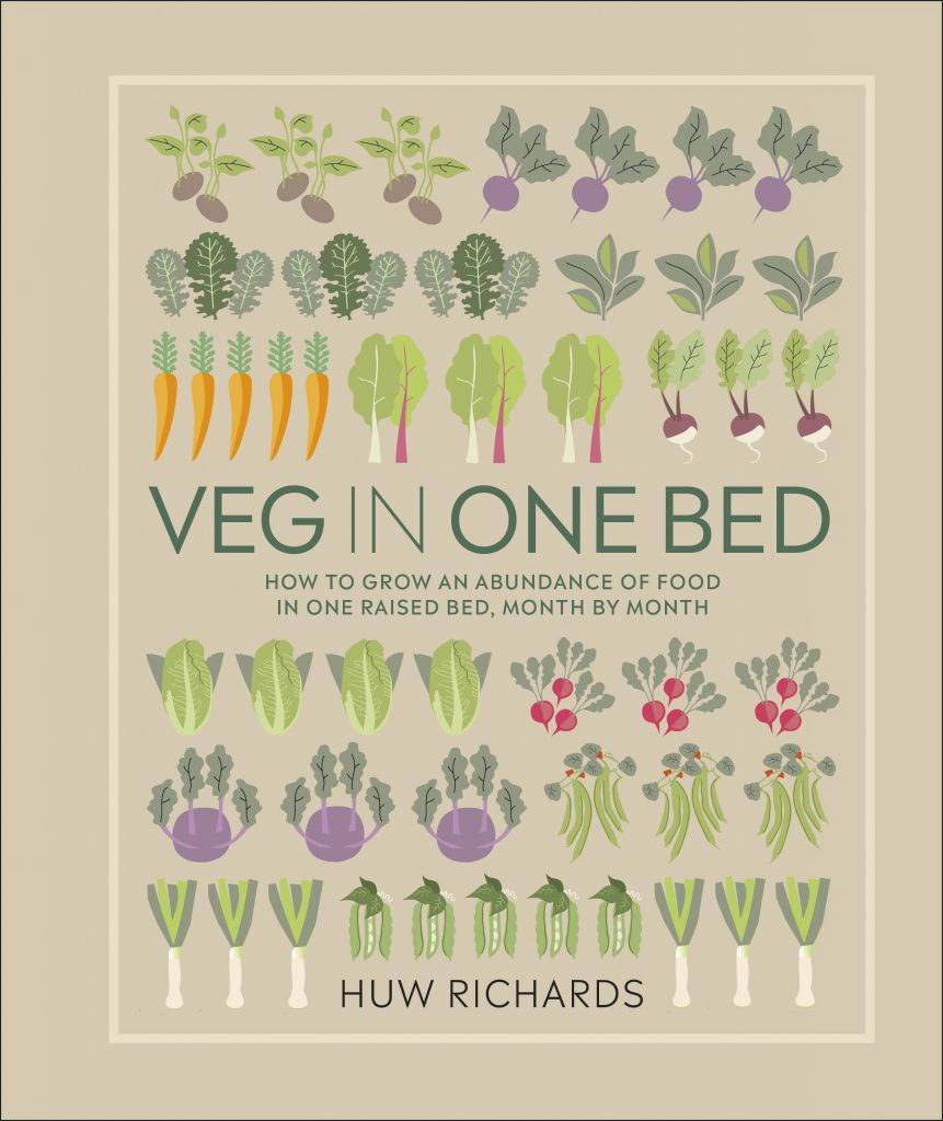 Dorling Kindersley gardening books Veg in One Bed