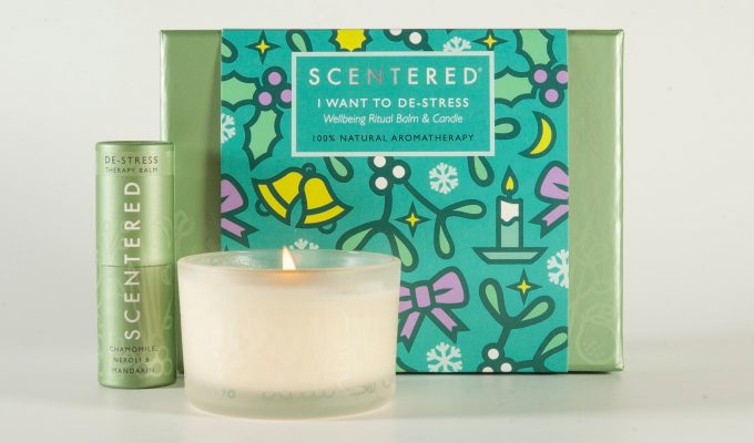 Win a De-Stress Christmas gift set from Scentered