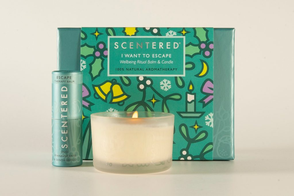 scentered escape aromatherapy gift set