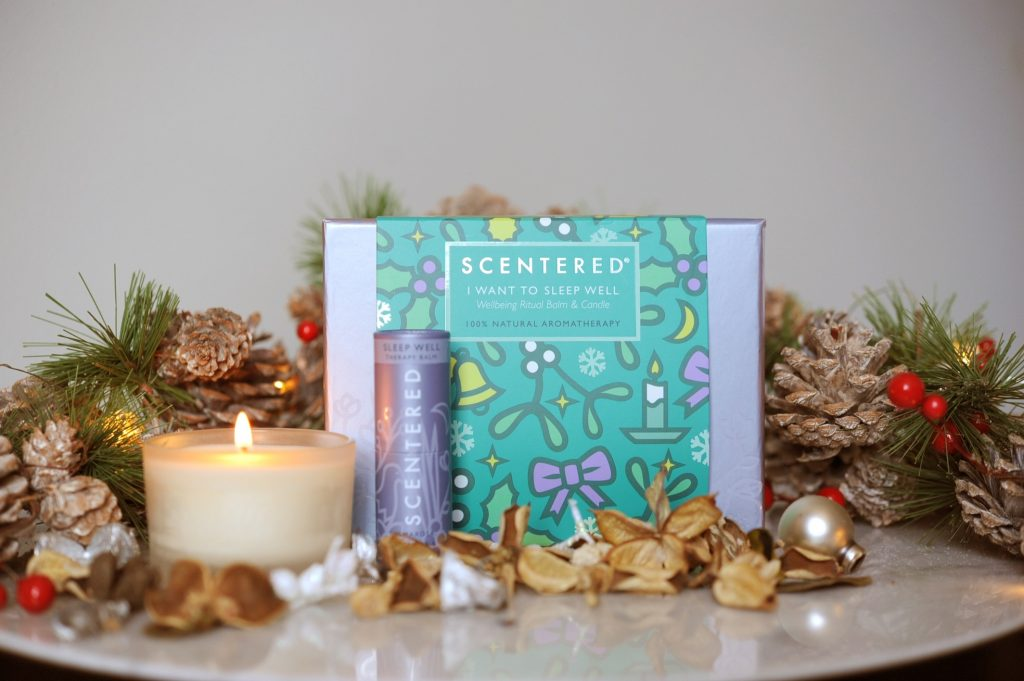 scentered sleep well aromatherapy gift set